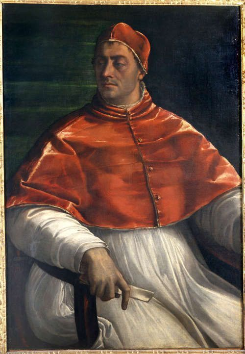 Sebastiano del Piombo, Porträt von Clemens VII, 1525/26, Öl auf Leinwand, 145 × 110 cm (Museo di Capodimonte, Naples (Q147) © Soprintendenza Speciale per il Polo Museale di Napoli)