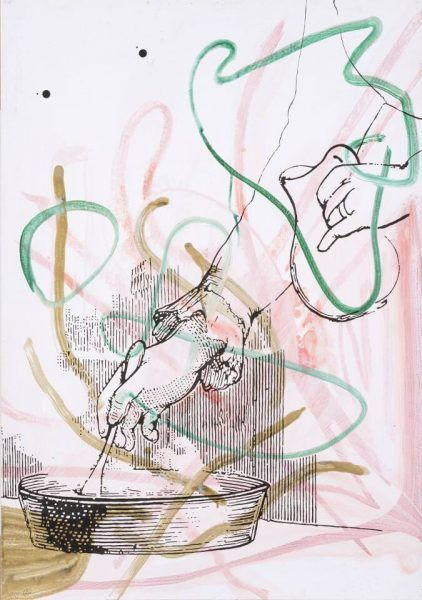 Sigmar Polke, Ohne Titel, 2004 (Privatbesitz) © The Estate of Sigmar Polke / VG Bild-Kunst Bonn, 2017