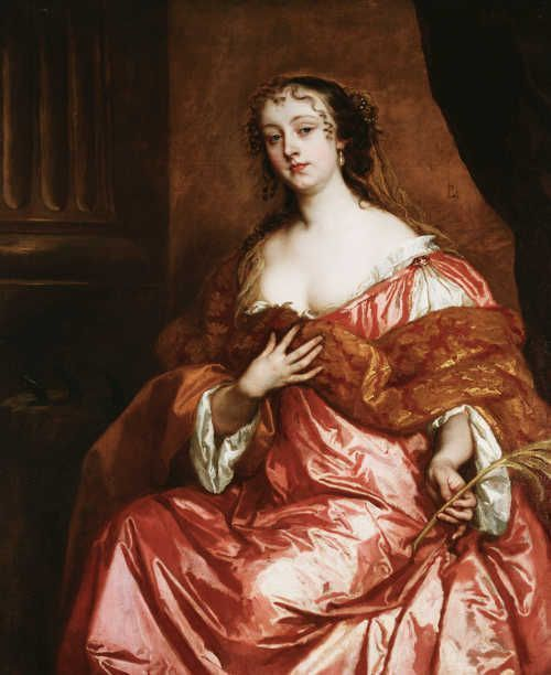 Sir Peter Lely, Elizabeth Hamilton, Countess of Gramont, um 1663 (Royal Collection Trust/© Her Majesty Queen Elizabeth II 2017)