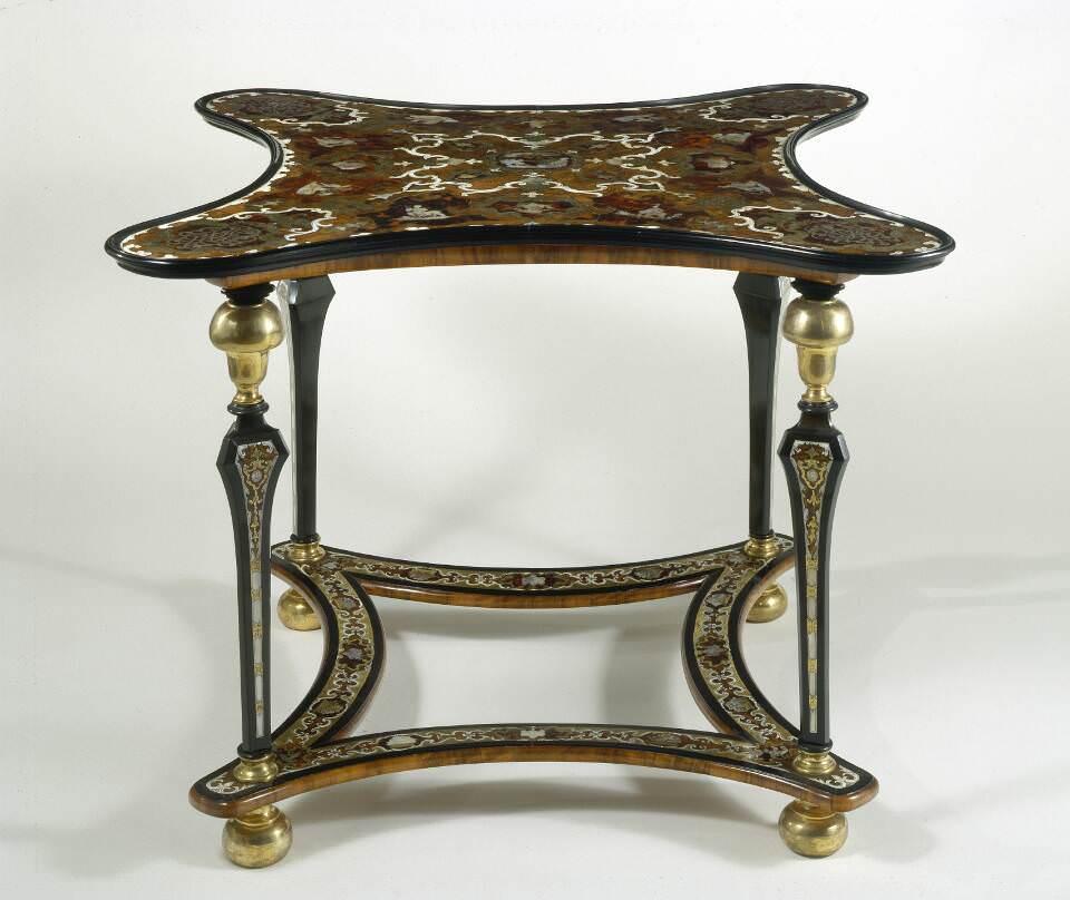 Spieltisch Karl VI und Elisabeth Christines, Wien um 1710 © BMobV, Foto Marianne Haller
