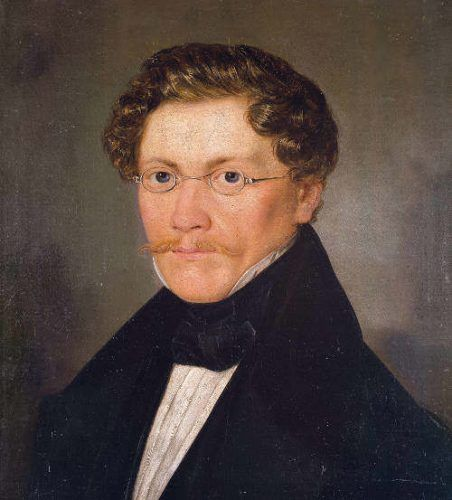 Carl Spitzweg, Selbstbildnis