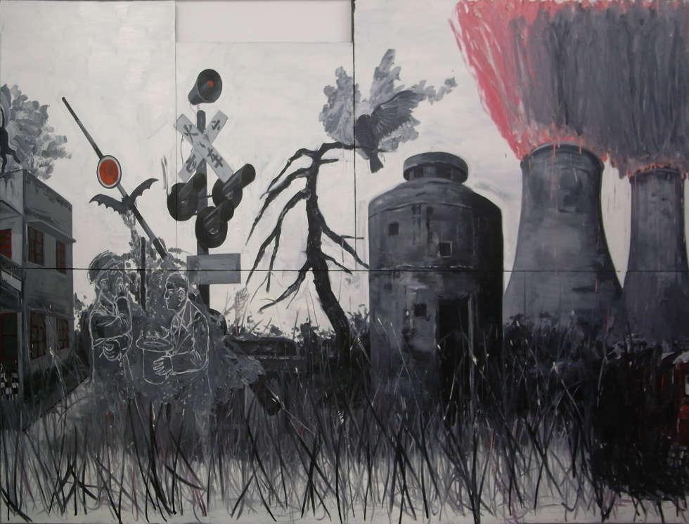 Sun Xun, Coal Spell, 2008, Video, 7:57 min (Courtesy of the artist © Sun Xun)
