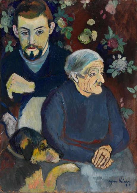 Suzanne Valadon, Großmutter und Enkel, um 1910 (Centre Pompidou Paris)