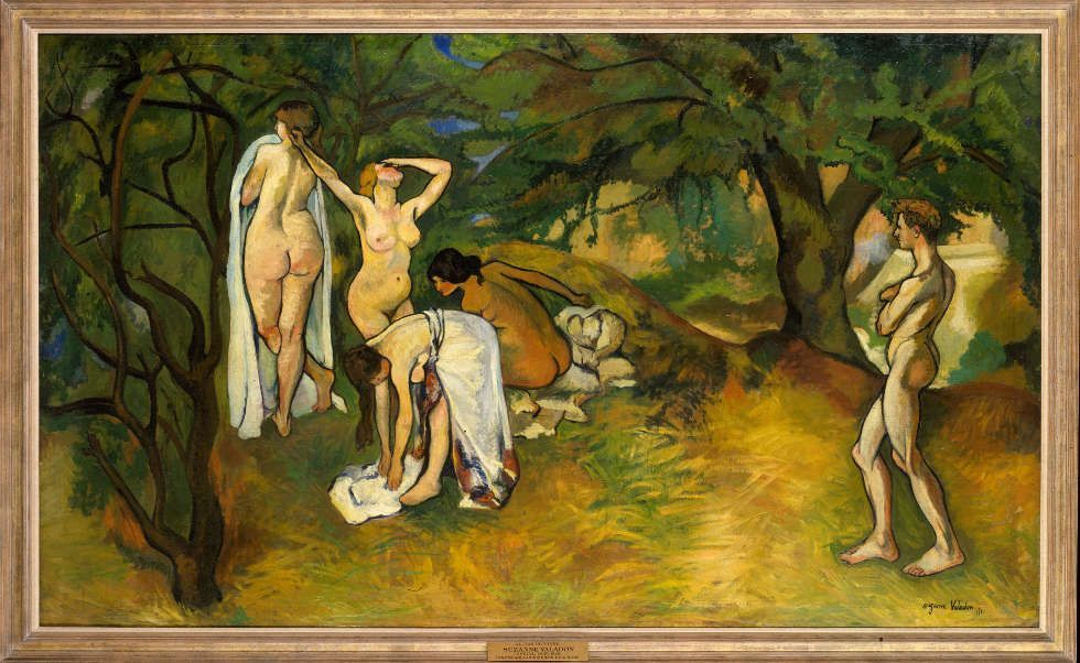 Suzanne Valadon, Lebensfreude, 1911 (Metropolitan Museum of Art, New York)