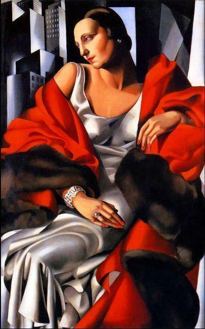 Tamara de Lempicka, Madame Boucard, 1931