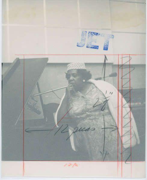 Theaster Gates, Aus dem Archiv der Johnson Publishing, Jet Magazine: Alice Jones (©the artist)