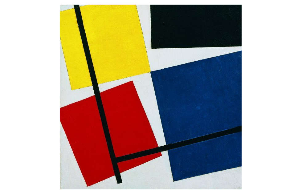 Theo van Doesburg, Simultaneous Countra Composition 1930 (MoMA)