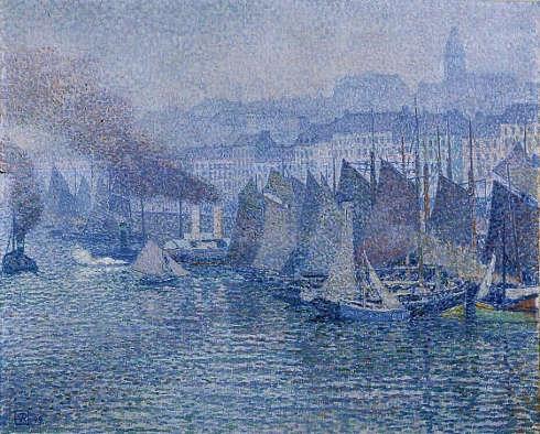 Théo Van Rysselberghe, Boulogne-sur-Mer, 1899, Öl/Lw, 65,7 x 81,5 cm (Kröller Müller Museum, KM 102.082)