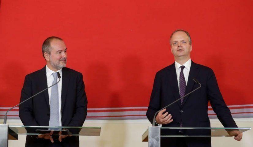 Thomas Drozda und Eike Schmidt