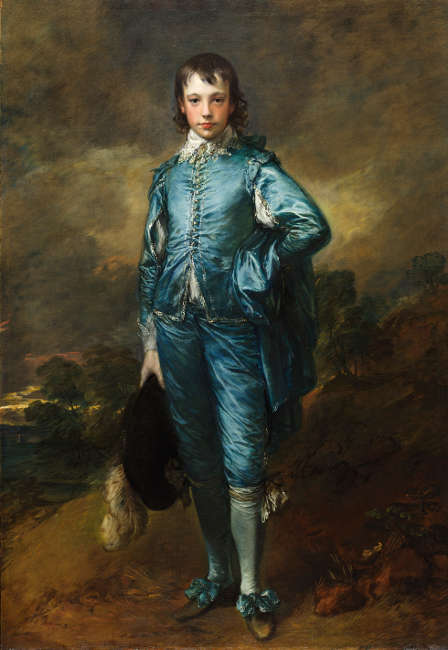 Thomas Gainsborough, Knabe in Blau, 1770, Öl/Lw, 179.4 × 123.8 cm (© courtesy of the Huntington Library, Art Museum, and Botanical Gardens, San Marino, California)