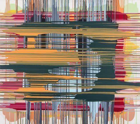 Thomas Reinhold, Bild, 2018, Öl auf Leinwand, 150 x 170 cm (© Thomas Reinhold)