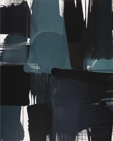 Thomas Reinhold, Matrix, 2017, Öl auf Leinwand, 260 x 210 cm (© Thomas Reinhold)
