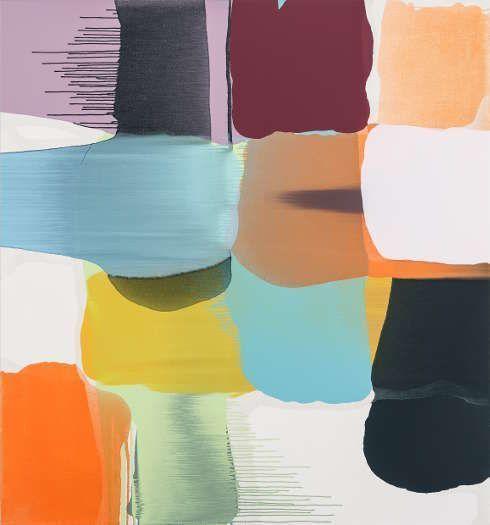 Thomas Reinhold, Matrix, 2018, Öl auf Leinwand, 150 x 140 cm (© Thomas Reinhold)