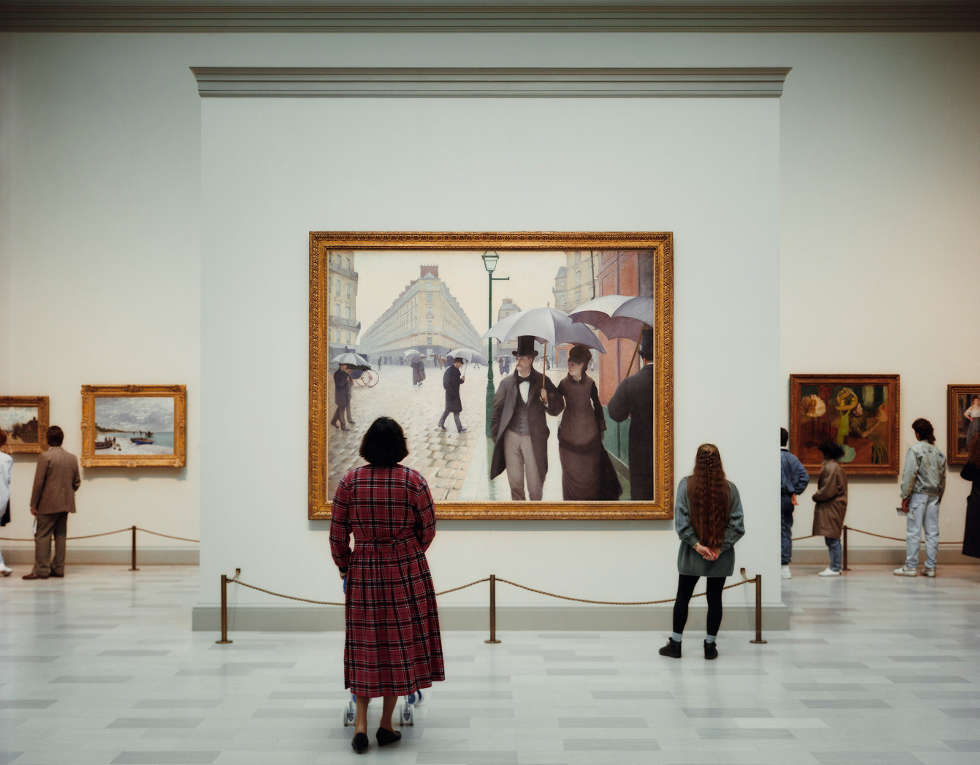 Thomas Struth, Art Institute of Chicago 2, Chicago 1990, C-Print, 184,1 x 219 cm (Astrup Fearnley, Museum of Modern Art, Oslo; © Thomas Struth, 2018)