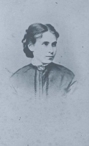 Tina Blau, um 1860–1865 (© Tina Blau Archiv)
