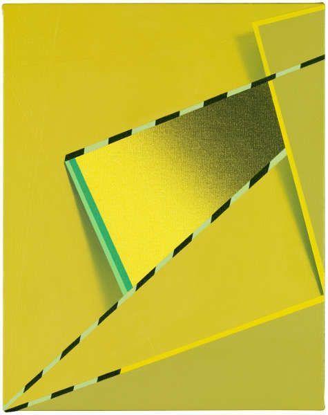 Tomma Abts, Feke, 2013, Acryl/Öl/Lw, 48 × 38 cm (Courtesy Privatsammlung)