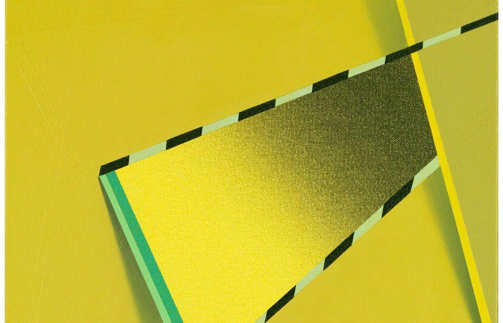 Tomma Abts, Feke, Detail, 2013, Acryl/Öl/Lw, 48 × 38 cm (Courtesy Privatsammlung)