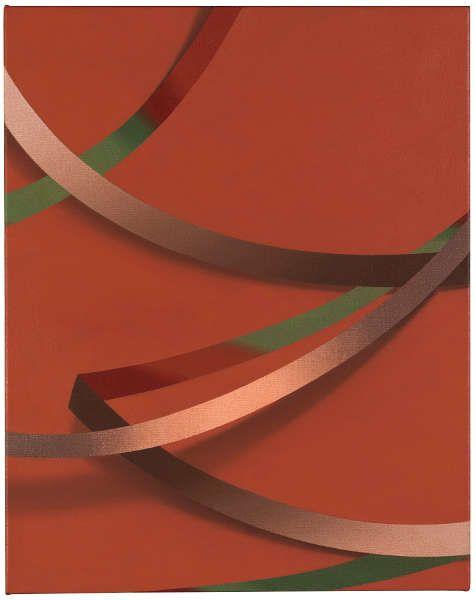 Tomma Abts, Weie, 2017, Acryl/Öl/Lw, 48 × 38 cm (Courtesy Privatsammlung)