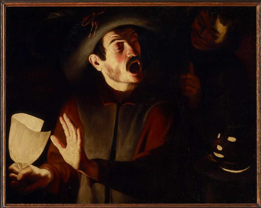 Trophîme Bigot, Schreiender Mann, um 1615/20, Öl auf Leinwand, 79 × 100 cm (Kunsthistorisches Museum, Gemäldegalerie, Inv.-Nr. 6435 © KHM-Museumsverband)
