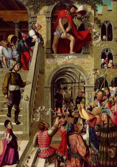 Urban Görtschacher, Ecce Homo, 1508 (Foto: Johannes Stoll © Belvedere, Wien)