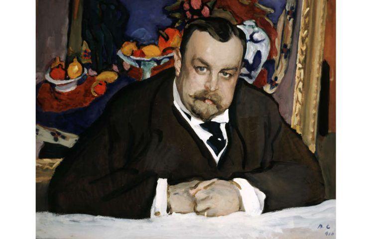 Valentin Serow, Iwan Abramowitsch Morosow, Moskau 1910