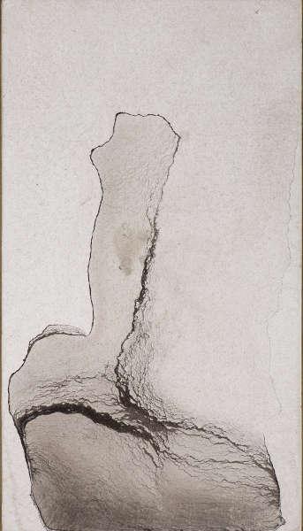 Victor Hugo, Marmorierter Klecks, um 1856 (Privatsammlung © Institut für Kunstgeschichte der Universität Wien, René Stey)