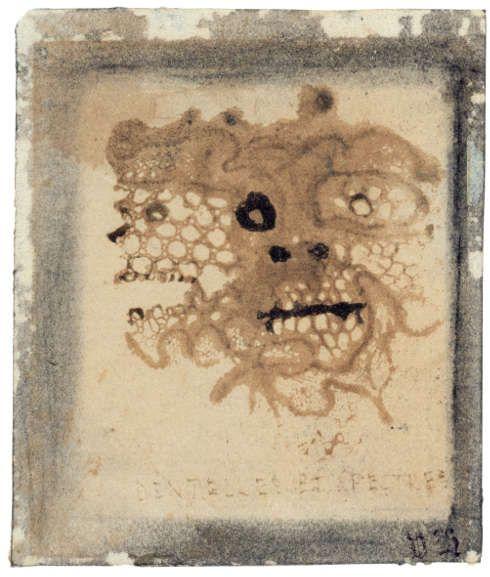 """Victor Hugo, """"Spitzen und Gespenster"""", 1855/56 (Privatsammlung © Institut für Kunstgeschichte der Universität Wien, René Stey)"""