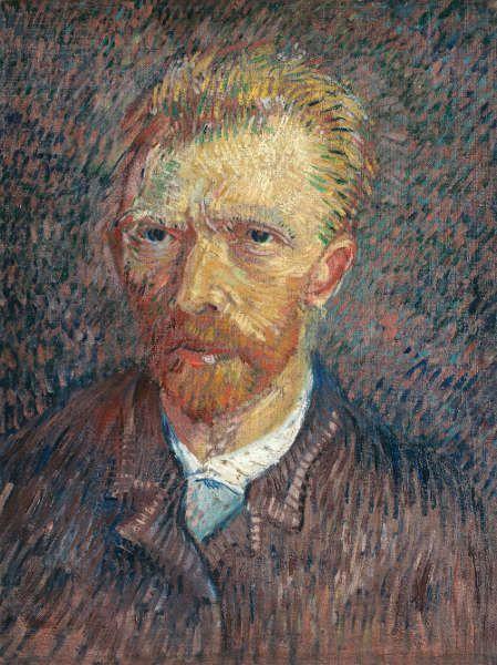 Vincent Van Gogh, Selbstbildnis, 1887, Öl/Lw, 47 × 35,5 cm (Sammlung Emil Bührle, Zürich | Emil Bührle Collection, Zurich, Foto SIK-ISEA, Zürich (J.-P. Kuhn)