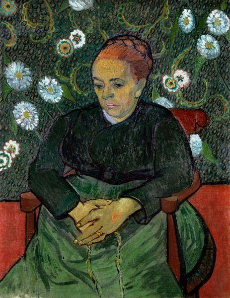 Vincent van Gogh, Augustine Roulin, 1889, Öl auf Leinwand, 91 x 71,5 cm (© Collection Stedelijk Museum Amsterdam)