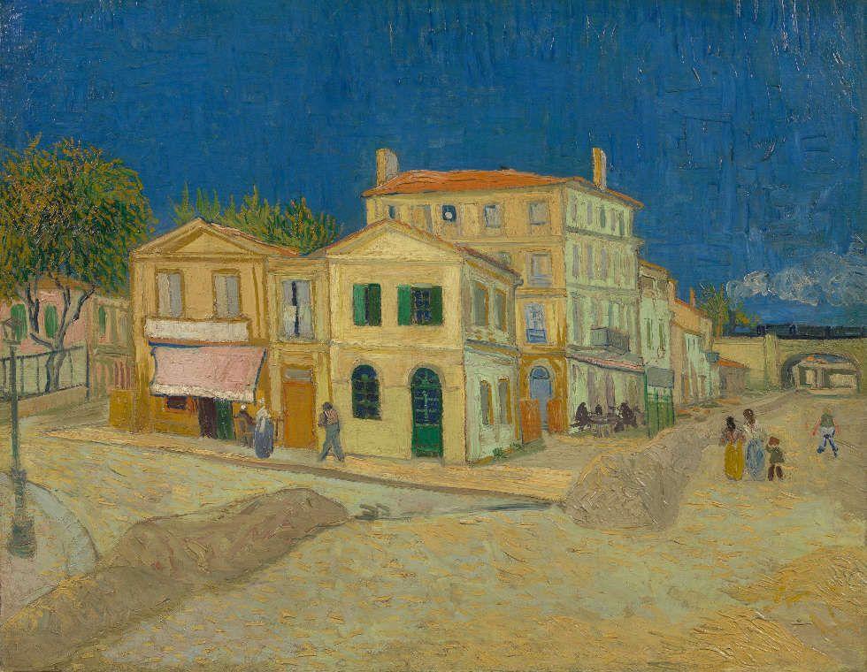 Vincent van Gogh, Das gelbe Haus (Die Straße). Arles, September 1888, Öl/Lw, 72 cm x 91.5 cm (Van Gogh Museum, Amsterdam (Vincent van Gogh Foundation)