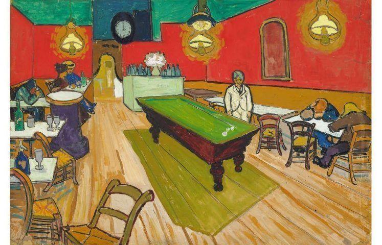 Vincent van Gogh, Le Café de nuit à Arles, 1888 (Hahnloser-Jaeggli Stiftung, Villa Flora, Winterthur, Foto: Reto Pedrini, Zürich)