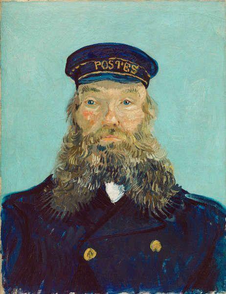 Vincent van Gogh, Porträt des Postmanns Roulin, 1888, Öl auf Leinwand (Detroit Institute of Arts)