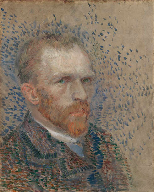 Vincent van Gogh, Selbstporträt, 1887, Öl/Karton (Van Gogh Museum, Amsterdam (Vincent van Gogh Foundation)