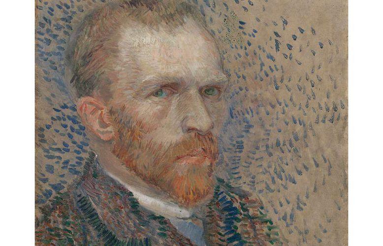 Vincent van Gogh, Selbstporträt, Detail, 1887, Öl/Karton (Van Gogh Museum, Amsterdam (Vincent van Gogh Foundation)