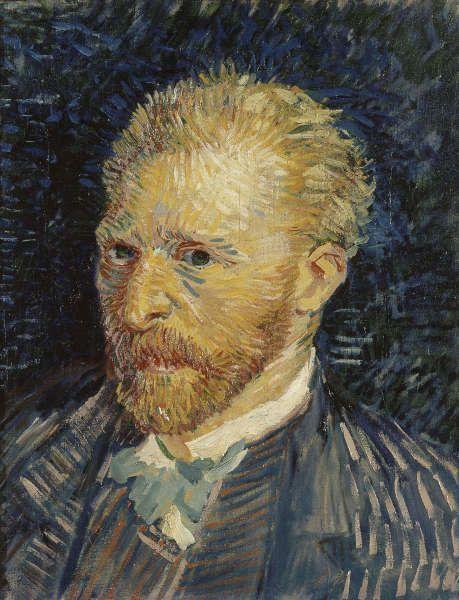 Vincent van Gogh, Selbstporträt, 1887 (Musée d'Orsay. Foto © RMN)