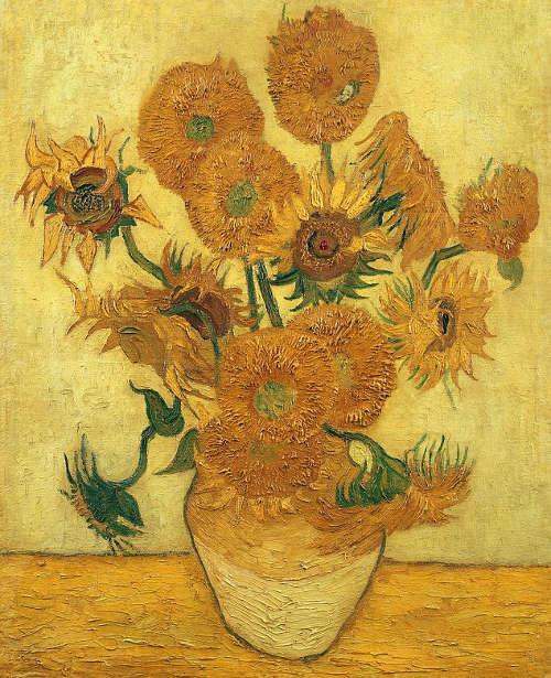 Vincent Van Gogh Sonnenblumen 1 Dezember 1888 Oder Ende Januar 1889 Ol