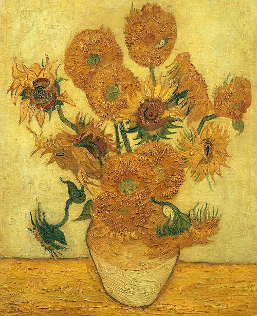 Vincent van Gogh, Sonnenblumen, 1. Dezember 1888 oder Ende Januar 1889, Öl/Jute, 100.5 x 76.5cm (Seiji Togo Memorial Sompo Japan Nipponkoa Museum of Art, Tokyo)
