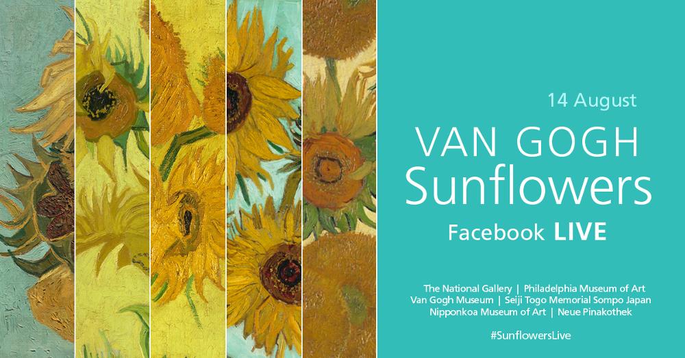 Vincent van Gogh #SunflowersLive