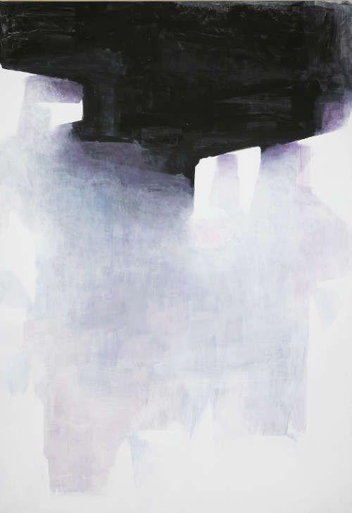 Walter Vopova, Ohne Titel, 2016, Acryl auf Leinwand, 300 x 200 cm (Courtesy der Künstler, Foto: Kunsthalle Krems / Lisa Rastl)