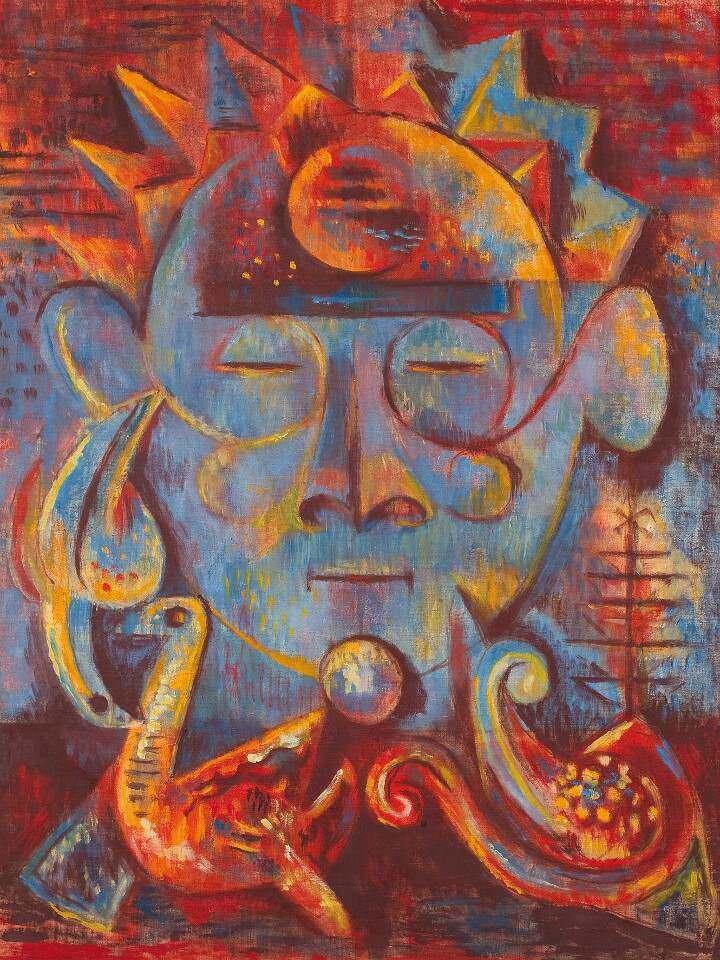 Alfred Wickenburg, Enigma, 1943, Öl auf Leinwand, 66 x 50,5 cm (© Belvedere, Wien - Leihgabe aus Privatbesitz, New York/ © Henriette Gorton-Wickenburg 2016)