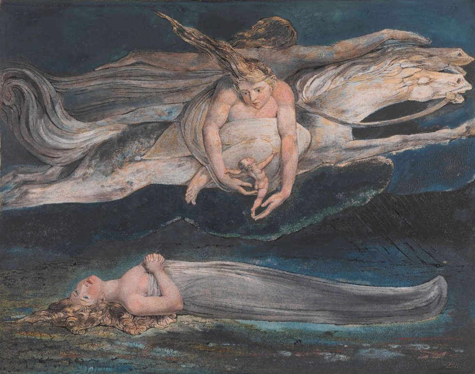 William Blake, Pity, um 1795 (Tate)