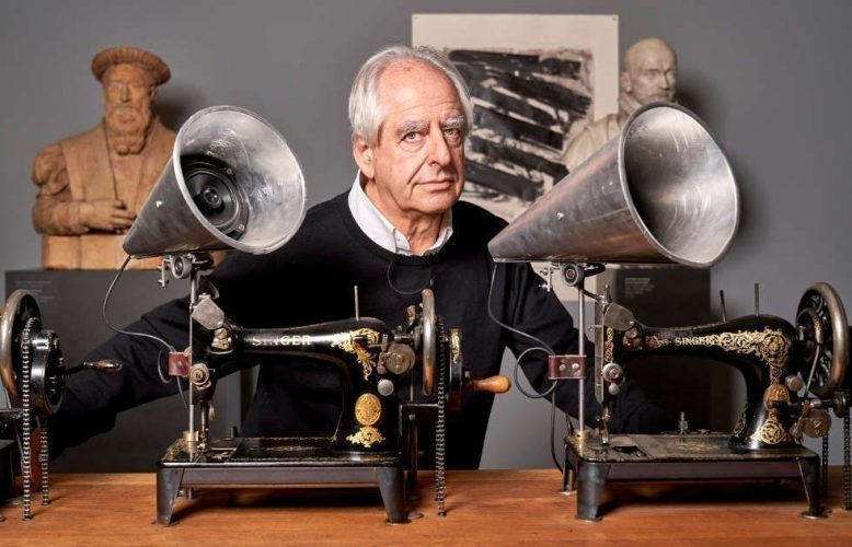 William Kentridge (* 1955), Foto: Liebieghaus Skulpturensammlung / Norbert Miguletz