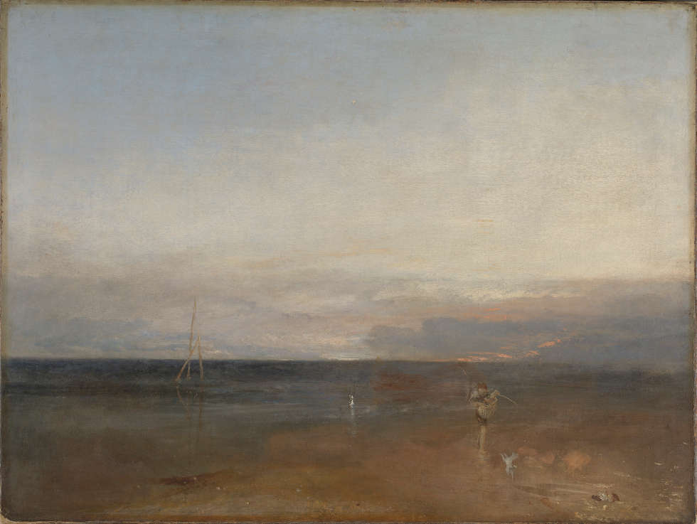 William Turner, Der Abendstern, um 1830, Öl/Lw, 91.1 x 122.6 cm (Turner Bequest, 1856 © The National Gallery London)
