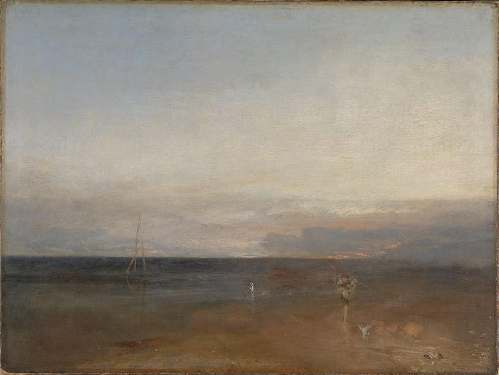 William Turner, Der Abendstern, um 1830, Öl/Lw, 91.1 x 122.6 cm (Turner Bequest, 1856 © The National Gallery London)