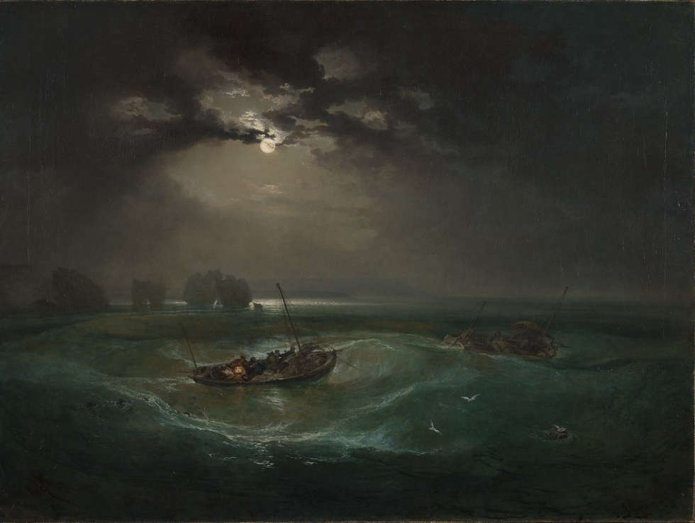 Joseph Mallord William Turner, Fishermen at Sea, Exhibited 1796 (© Tate: Accepted by the nation as part of the Turner Bequest 1856, Photo ©Tate, 2019)
