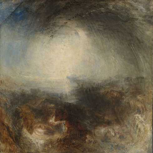 Joseph Mallord William Turner, Shade and Darkness – the Evening of the Deluge, Exhibited 1843 (© Tate: Accepted by the nation as part of the Turner Bequest 1856, Photo ©Tate, 2019)