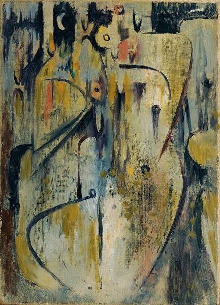 Wolfgang Paalen, El Velorio, 1946 (Belvedere, Wien)