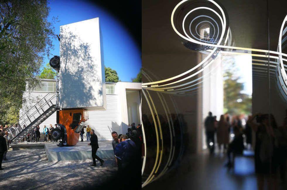 Brigitte Kowanz & Erwin Wurm   Biennale 2017