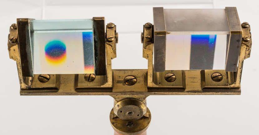 Zwei Prismen von Flint- und Crownglas aus Goethes Sammlungen (Klassik Stiftung Weimar)