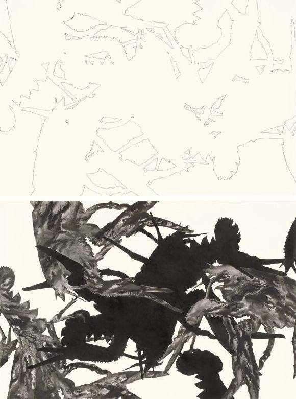 Adriana Czernin, The Night Before (Investigation of the Inside), 2010, aus: Martin Janda (Hg.), Adriana Czernin, Berlin 2013, S. 32.